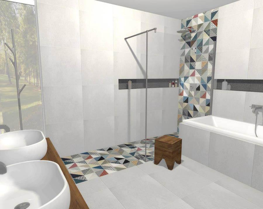 3D grafický návrh kúpeľne