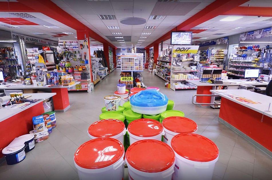 Predajňa MPL Stavro
