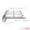 Ytong Ekonóm - Stopný systém