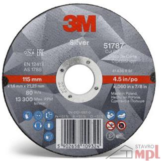 3M SILVER REZNY KOTUC 3M 51804 Rezný kotúč Silver