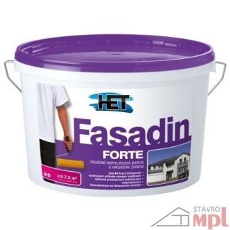 HET Fasádna akrylátová hrubozrnná farba Fasadin Forte 1