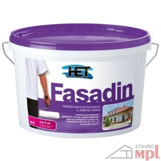 HET Fasádna akrylátová jemnozrnná farba Fasadin 1