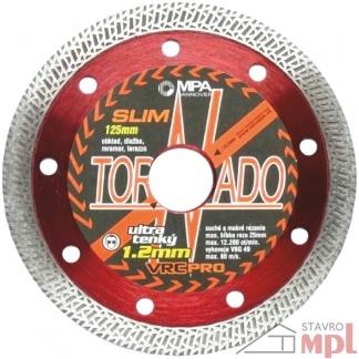 Kotúč diamantový TORNADO SLIM (Rozmery 115x1,2)
