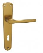 Kovanie LUXOR (Povrch prírodný elox F1, Rozteč 72, Typ otvoru BB KL/KL kľúč)