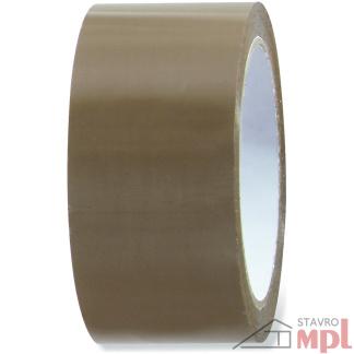 Páska baliaca hnedá 48mm x 66m (Dĺžka 66 m, Šírka 4,8 cm)