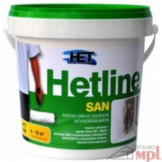 HET Protiplesňová farba Hetline SAN 1,5kg