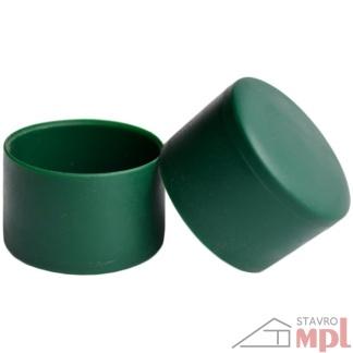 6297 pvc ciapka na stlpik zelena