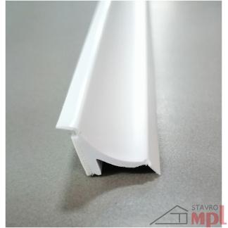22418 pvc vanova na obklad biela 15x15x1830mm samolepiaca