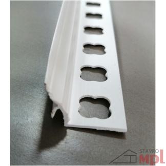 22415 pvc vanova pod obklad biela 183cm uzky