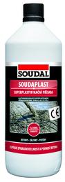 Superplastifikáčná prísada Soudaplast (Balenie 1 liter)