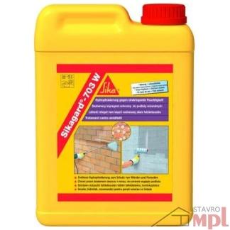 Vodu odpudzujúca impregnačná emulzia Sikagard®-703 W (Balenie 2 litre, Farba biely)
